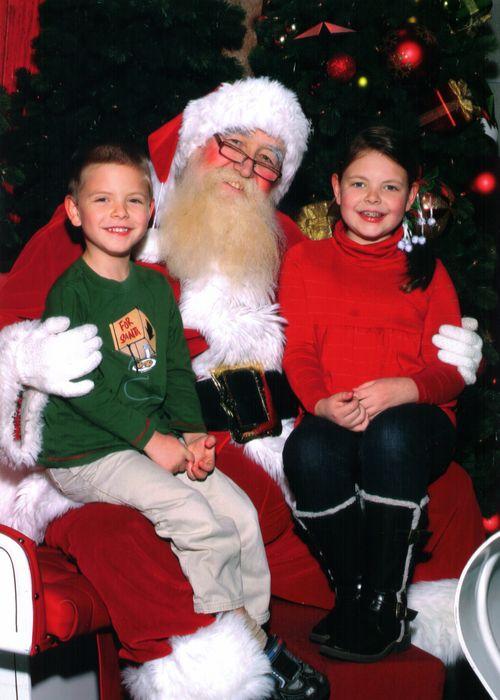 Santa Picture 2009